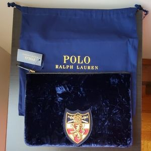 Ralph Lauren Polo Clutch